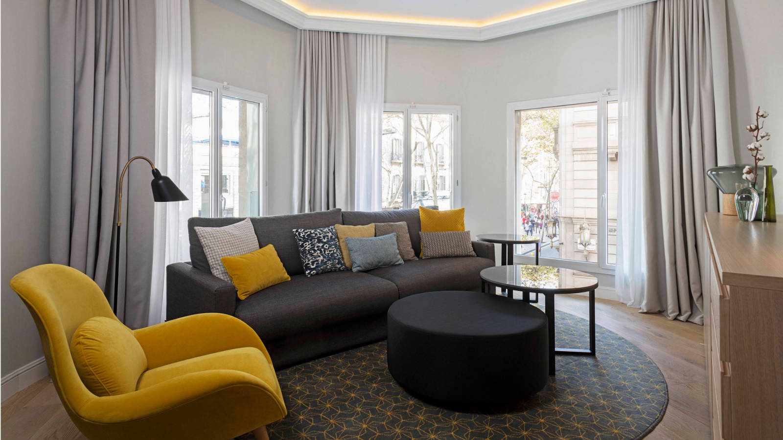 Corner Suite at Le Méridien Barcelona