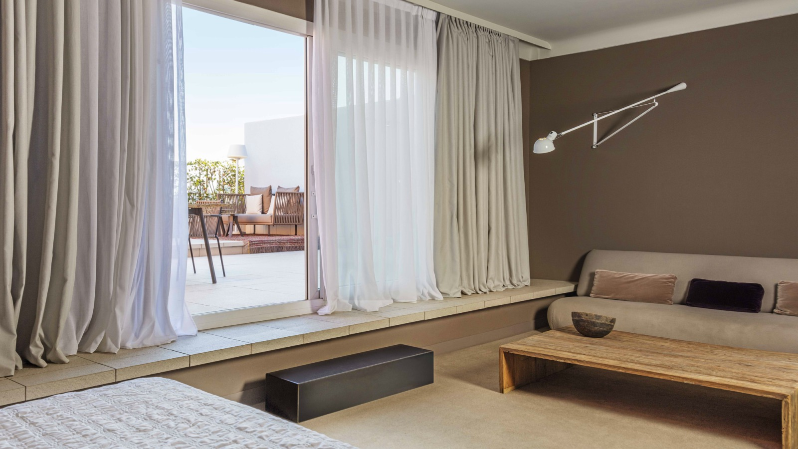 La Grand Terrace Suite en Le Méridien Barcelona
